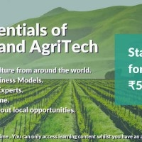 SRiX Agribusiness Academy, India's first agri and food business online learning platform